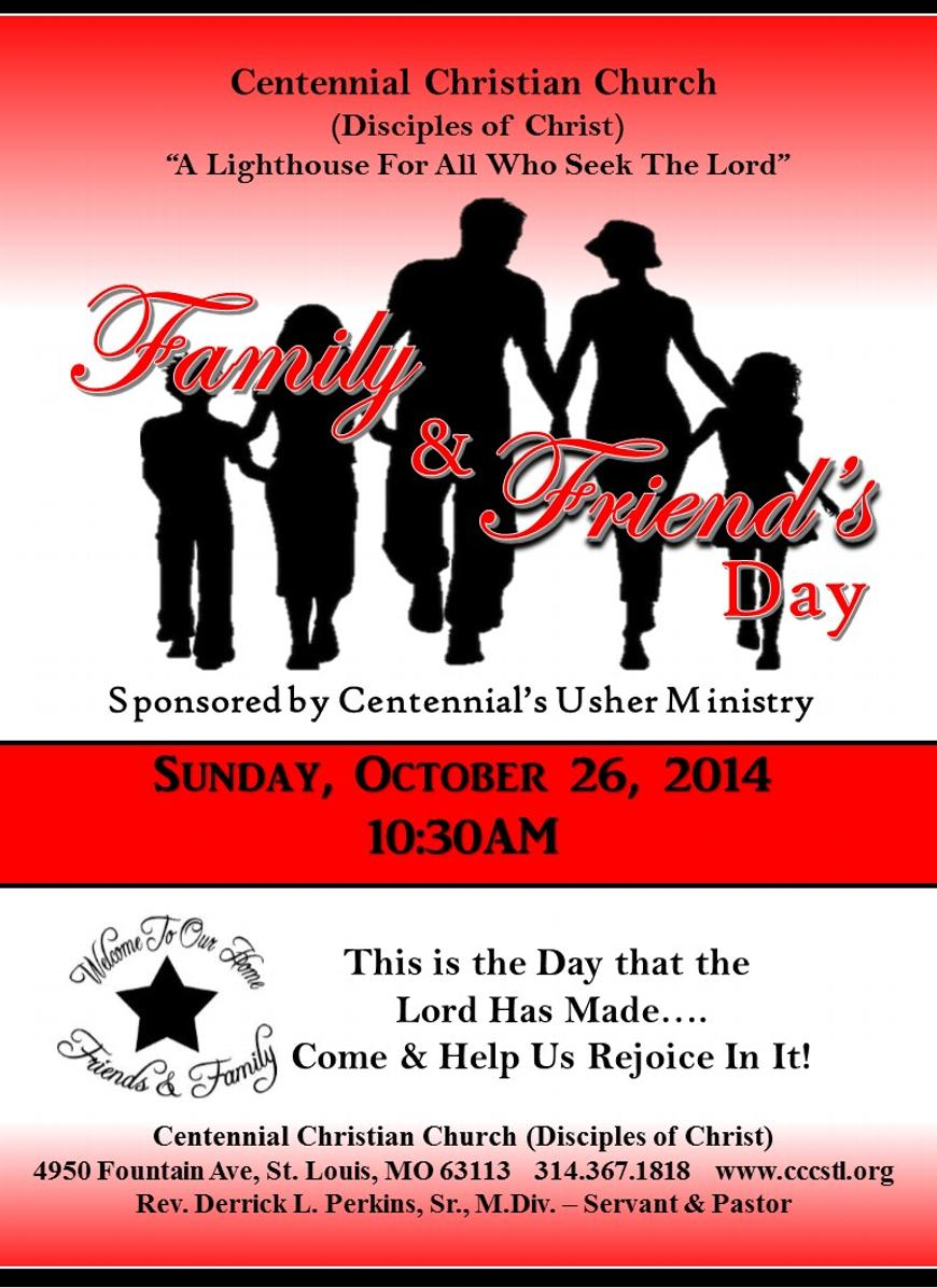 Family & Friends Day @ House of Prayer To All Nations ... |Themes For Family And Friends